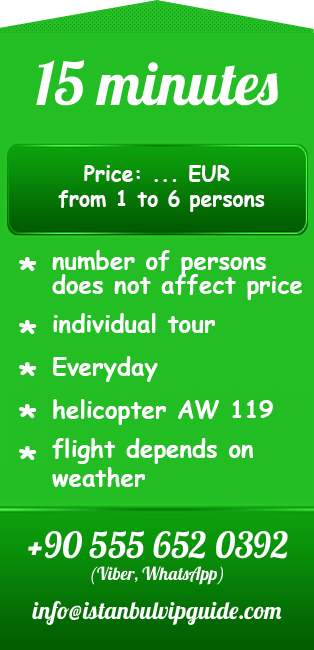 Helicopter tour istanbul 15 minutes price