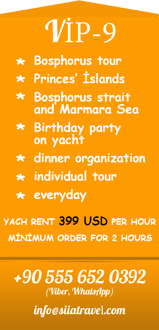 Yacht tour Istanbul