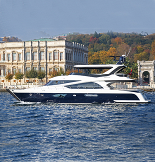Yacht in Istanbul Vip-K7 tour