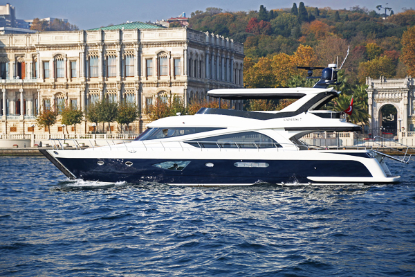 Yacht in Istanbul Vip-K7