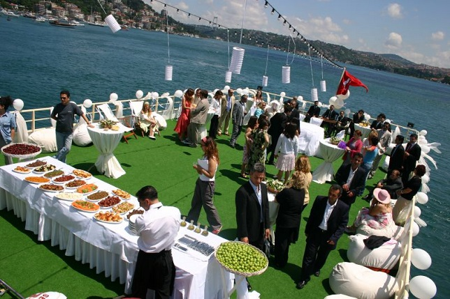 Birthday party in Istanbul