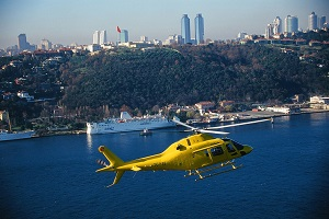 Rent helicopter in Istanbul