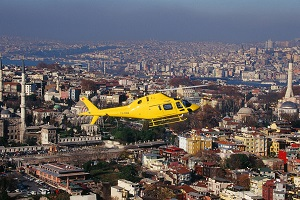 Tours by helicopter in Istanbul