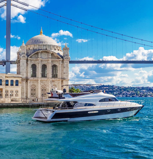Yacht in Istanbul Vip-K5 tour
